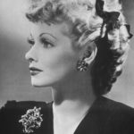 Beautiful Profile of Lucille Ball
